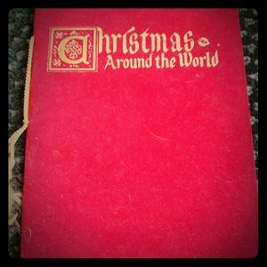 Antique Christmas Around The World cir 1920s Book